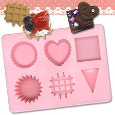 Padico Japan Decollage Clay Dessert Cake Sweets by melovewholesale, $6.99