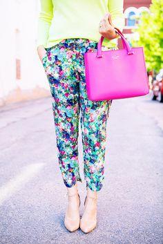 Color #color #neon #summer #fashion #florals