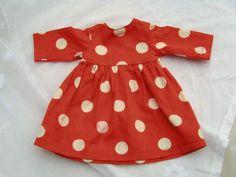 Käthe Kruse Kleid für Waldorf Puppe 38 cm
