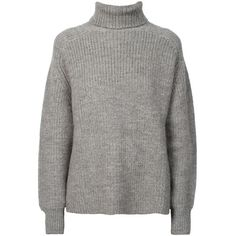 ETOILE ISABEL MARANT Laney Pullover Grey (1.165 BRL) ❤ liked on Polyvore featuring tops, sweaters, sweatshirt, long sleeves, etoile isabel marant sweater, gray pullover, gray top, grey pullover and long sleeve tops
