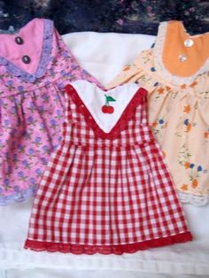 AMERICAN GIRL 18 INCH DOLL CLOTHES-LOT OF 3 DRESSES-SET 2 - eCrater Stores Network