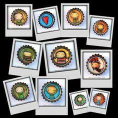 Minttumaan suloiset magneetit on valmistettu kierrätettyihin kruunukorkkeihin.