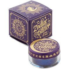 Lime Crime Makeup Zodiac Glitter ($13) ❤ liked on Polyvore featuring beauty products, makeup, face makeup, beauty, cosmetics, accessories, fillers, blue, eye shadow and other accessory