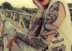 Girly Tattoo Sleeves
