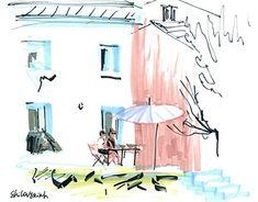 "Check out new work on my @Behance portfolio: ""Midi en été"" http://be.net/gallery/60373059/Midi-en-t"