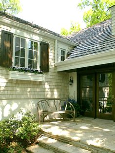 Traditional Exterior Wood Board And Batten Shutters Design, Pictures, Remodel, Decor and Ideas - page 2
