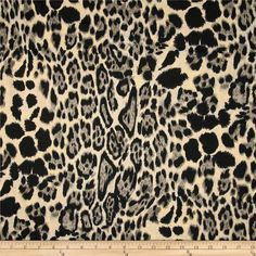 1433e15da4d Online Shopping for Home Decor, Apparel, Quilding & Designer Fabric. Suede  FabricKnitted FabricKnitted AnimalsCozy SweatersAnimal Print ...