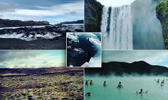 Exploring Star Wars glaciers, waterfalls and Blue Lagoon in Iceland | Daily Mail Online