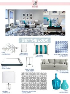 Get the Look - Contemporary Living Room