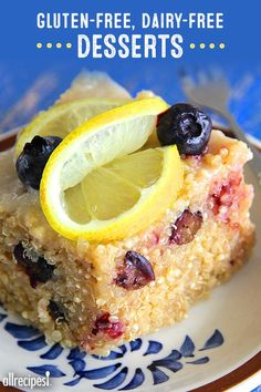 Guilt-free desserts that keep your gluten-and-dairy-free diet intact.