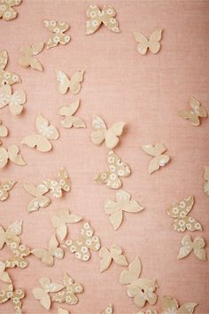Butterfly Confetti from BHLDN