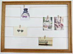 DIY: maak makkelijk en snel een fotolijst met touw