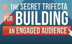 This infographic reveals all you need to know to start building an engaged audience online.