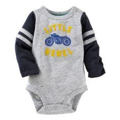 """Baby+Boy+OshKosh+B'gosh+""""Little+Rebel""""+Bodysuit"""