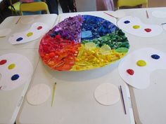 A lesson in color mixing