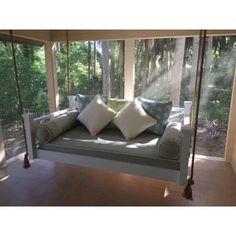Custom Carolina The Historic Hilton Head Hanging Bed - Porch Swings at Hayneedle