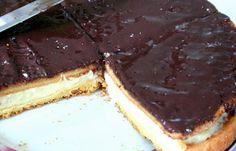 Divin gâteau à la crème patissière et au chocolat