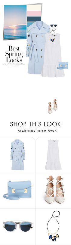 """""""Best Spring Looks"""" by sophiek82 ❤ liked on Polyvore featuring H&M, VIVETTA, Markus Lupfer, Sophie Hulme, Gianvito Rossi, Christian Dior and Marni"""