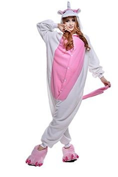 Adult New Purple Unicorn Onesie Pajamas Kigurumi Cosplay Costumes Animal Outfit M Pink Unicorn >>> Check out this great product.