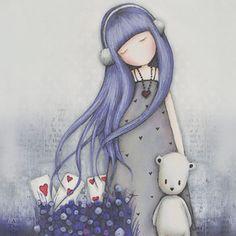 #Muñeca #Gorjuss. Dear Alice. https://www.tiendagorjuss.com/
