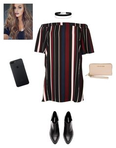 A fashion look from October 2016 featuring plus size short sleeve dresses, black cut-out booties and michael kors clutches. Blazer With Jeans, Miss Selfridge, Plus Size Dresses, River Island, Outfit Ideas, Michael Kors, Polyvore, Clothes, Outfits