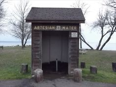 It is to bad that the town has decided to seal up one of the last artesian wells here in town. Nothing wrong with it, tourist and others can still get the water for a short time. Town is planning to seal it and get more funds for a new one. Again nothing wrong with this well, some people in the area dont have running water. Now they won't even have this. Artesian Well - Ashland, Wisconsin - Artesian Well on Waymarking.com