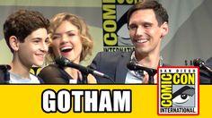 Gotham Comic Con Panel - Ben McKenzie, Sean Pertwee, Camren Bicondova, Donal Logue, Erin Richards