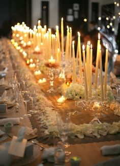 Candle Night Wedding
