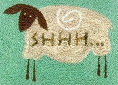 sheep punch needle