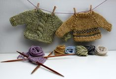 Ravelry: handknittedthings' Tiny Sweater Sample