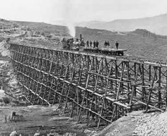 History inspiration:Transcontinental Railroad (constructed between 1863 and Central Pacific Railroad, Canadian Pacific Railway, Us History, American History, Coaster, Vancouver, Old West Photos, Hell On Wheels, Bonde