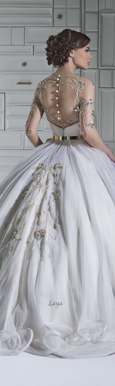 In love with this wedding gown