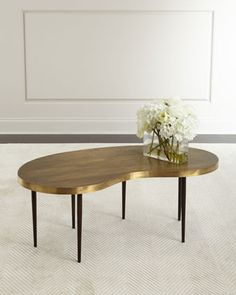 Rein+Brass+Coffee+Table+by+Arteriors+at+Horchow.