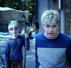 Hahaha! No wonder I was so attracted to Jack Frost! No really! I thought the cartoon character was really cute and now I know why!<< So I wasn't the only one....