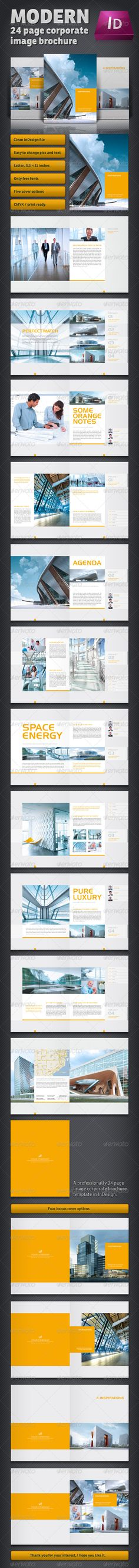Training Company Brochure Template   Pages  Print  Company