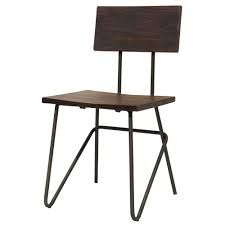 Buy this Vintage Graphite Industrial Metal Chair with Dark Wood Seat for a cool addition to your industrial interior at Fusion Living. Industrial Metal Chairs, Industrial Interiors, Metal Frame Chair, Dark Wood, Drafting Desk, Table, Vintage, Furniture, Home Decor