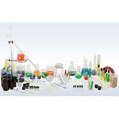 Deluxe Chemistry Glassware & Labware Kit