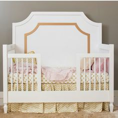 Gold Baby Bedding Nursery Pink And Room