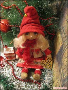 Рождественская куколка - Ярмарка СМ - Страна Мам
