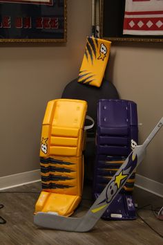 I am the best goalie Hockey Goalie Pads, Goalie Gear, Goalie Mask, Ice Hockey, Hockey Goalie Equipment, Hockey Shop, Color Combos, Cool Stuff, Hockey Stuff