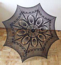 Crochet umbrella - Parasol - for Lady