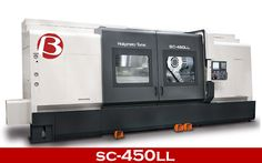 SC-450LL Max. Turning Lenght:2,520mm Heavy cutting #machine tool