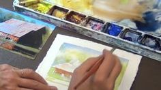 Watch Watercolor with Birgit O'Connor Online | Vimeo On Demand