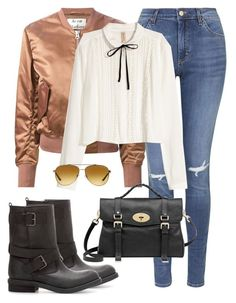 """Untitled #167"" by elissa713 on Polyvore featuring Topshop, Acne Studios, H&M, Mulberry, Zara and Michael Kors"