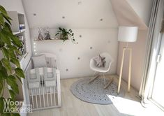 Little pink star - Woonmakers Pink Stars, Cozy House, Baby Room, Baby Kids, Kids Room, Toddler Bed, Nursery, Interior Design, Projects