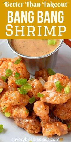 Fried Shrimp Recipes, Shrimp Recipes For Dinner, Shrimp Appetizers, Shrimp Dishes, Seafood Dinner, Fish Recipes, Seafood Recipes, Asian Recipes, Cooking Recipes