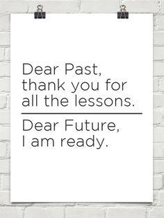 """Dear Past"" - via @trabalhosujo"