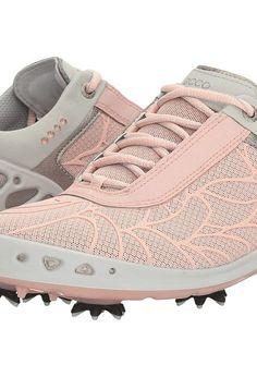 85ee053286dd7b ECCO Golf Cage EVO (Silver Pink) Women's Golf Shoes - ECCO Golf, Cage EVO,  102013-681, Footwear Athletic Golf, Golf, Athletic, Footwear, Shoes, Gift,  ...