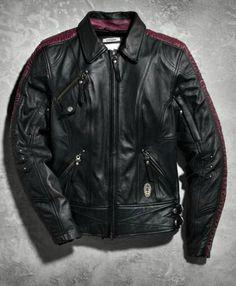 Harley-Davidson® Women s Starwood Leather Jacket Tall 97022-15VT fd5000e09bfd