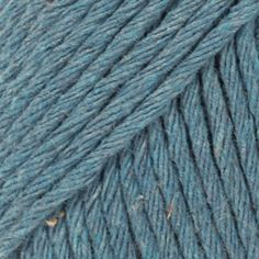 DROPS Paris is spun from multiple thin strands of cotton - a fiber that breathes and has a high absorbency, which makes garments made in this yarn cool and. Laine Drops, Drops Paris, Roving Yarn, Denim Cotton, Recycled Denim, Drops Design, Rustic Feel, Rowan, Knitting Yarn